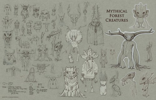 Mythical Forest Creatures