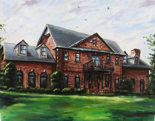 Kellis House Portrait