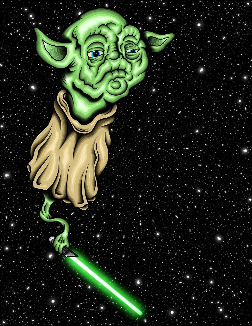 Yoda in Space