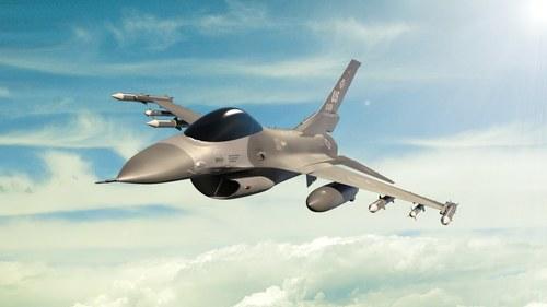 F16 vadászbombázó repülőgép