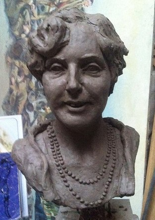 Bust of Christiana Hartley (front)