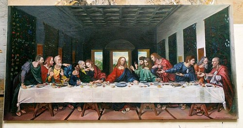 Copy of Leonardo's The Last Supper