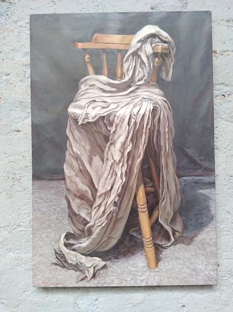 Chair with Drapery