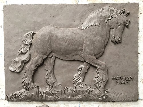 (Commission) Horse Relief