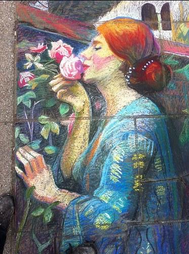 "John william Waterhouse ""The Soul of the Rose"" 2018"
