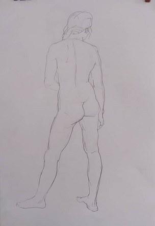 life drawing study May 21