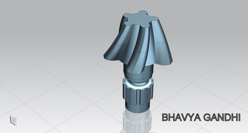 Bevel pinion