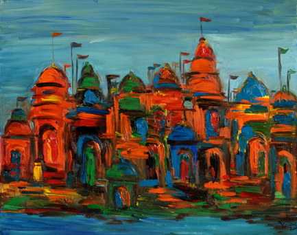 Offerings on the Ganges (SOLD)