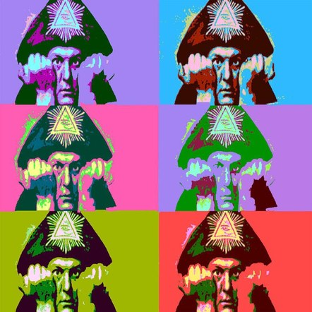 Aleister Crowley Pop Art