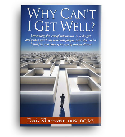 Why Can't I Get Well? | Front Cover Design 1
