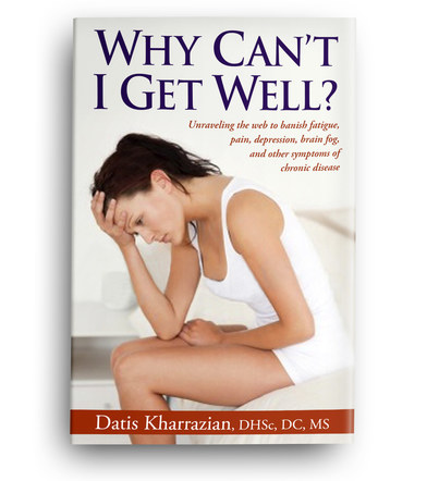 Why Can't I Get Well? | Front Cover Design 3