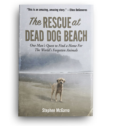 The Rescue at Dead Dog Beach | Front Cover Design 5