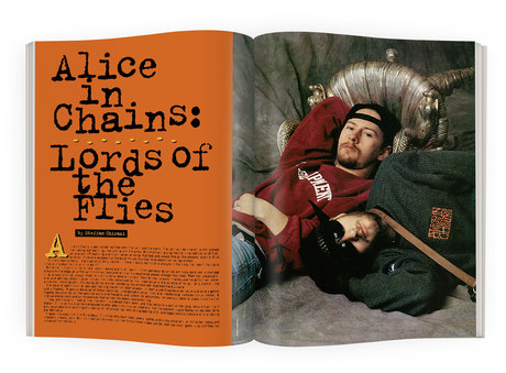 Alice in Chains | RIP Magazine Spread