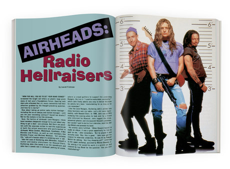 Airheads | RIP Magazine Spread