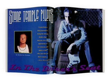 Stone Temple Pilots | RIP Magazine Spread