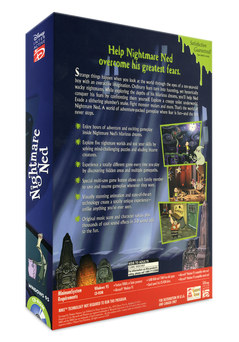 Nighmare Ned | Video Game Box Back