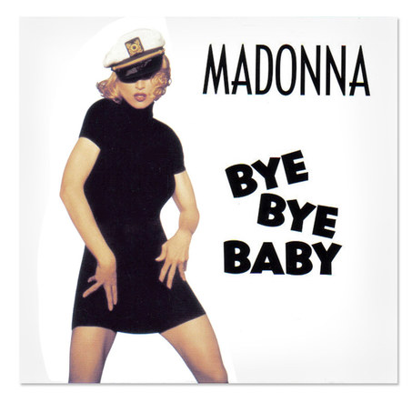 Madonna | Bye Bye Baby CD Single Front