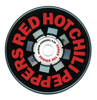 Red Hot Chili Peppers | Under The Bridge Promo CD Label
