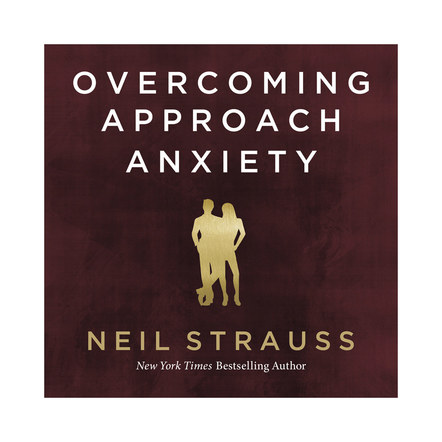 Overcoming Approach Anxiety | Audible Cover Design 3