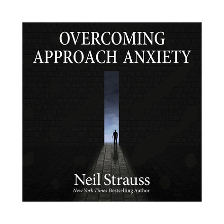 Overcoming Approach Anxiety | Audible Cover Design 4