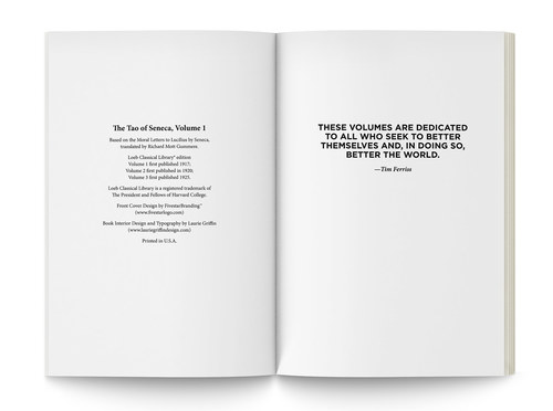 The Tao of Seneca | Interior Pages 2