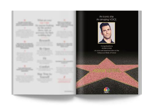 Adam Levine Walk of Fame | Trade Ad