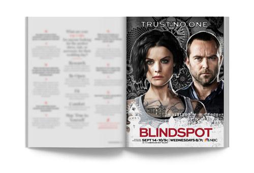 Blindspot | Full-Page Ad