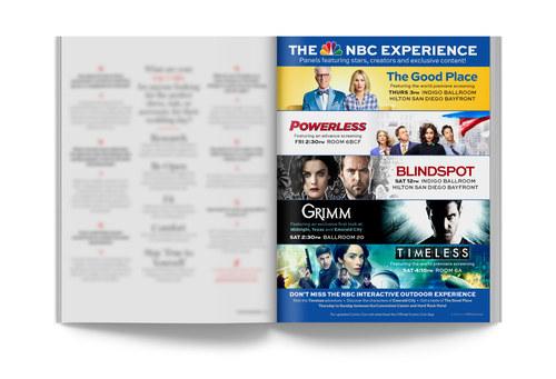 NBC ComicCon | Trade Ad