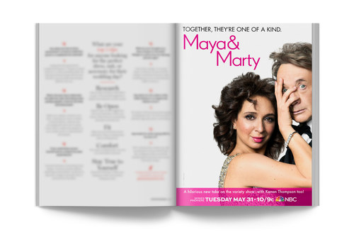 Maya & Marty | Full-Page Ad