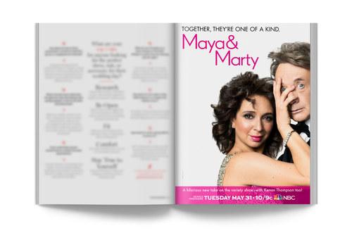 Maya & Marty | Full-Page Ad