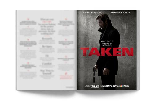 Taken | Full-Page Ad