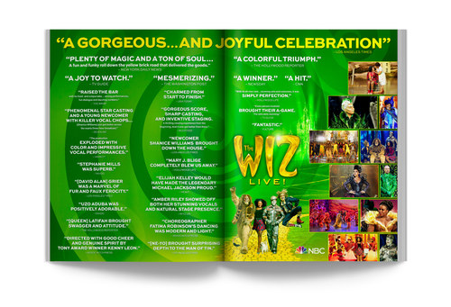 The Wiz | Spread Ad