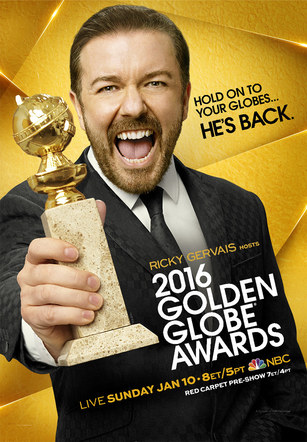 Golden Globe Awards | 2016 Poster
