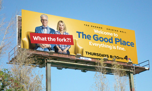 The Good Place Season 1 | 14 x 48 Bulletin