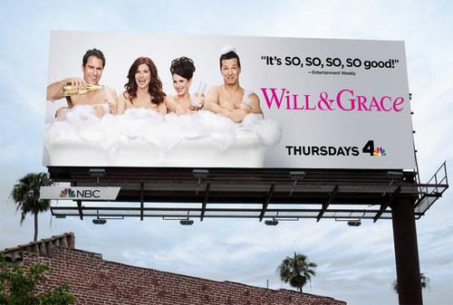 Will & Grace Season 9 | 19.5 x 48 Bulletin