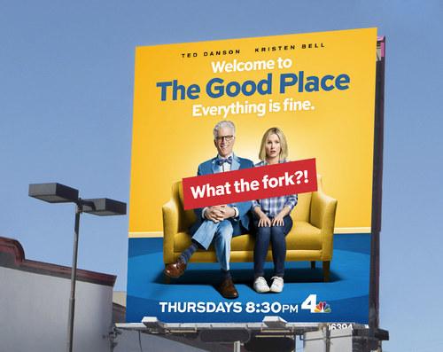 The Good Place Season 1 | 26 x 24 Premium Square