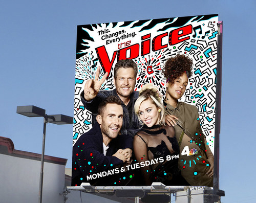 The Voice Season 11 | 26 x 24 Premium Square