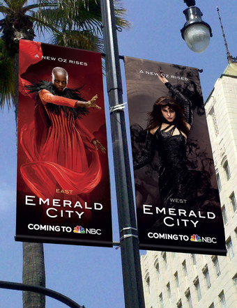 Emerald City | Pole Banners 3