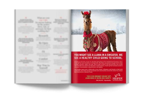 NBC Heifer Charity | Trade Ad 2
