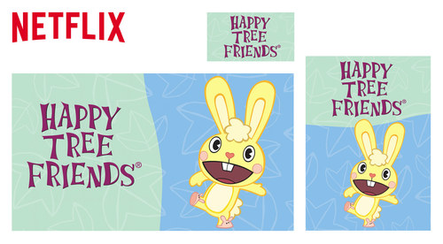 Netflix Website Show Images | Happy Tree Friends