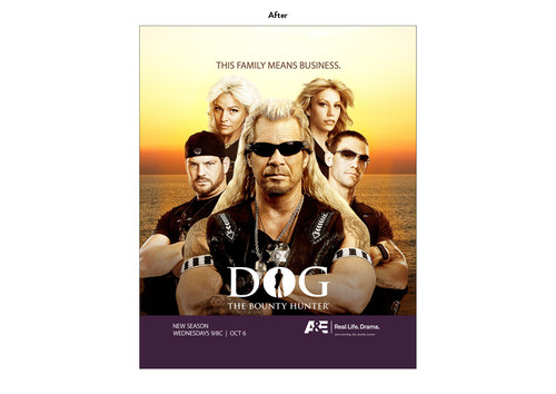 Dog the Bounty Hunter | A&E Show Key Art (After)