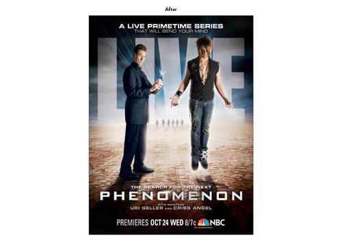 Phenomenon | NBC Show Key Art (After)