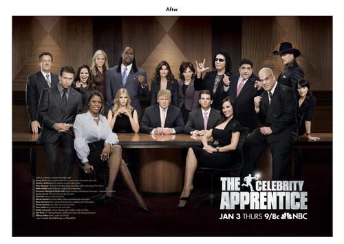 The Celebrity Apprentice, Season 1 | NBC Show Key Art (After)