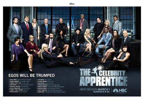 The Celebrity Apprentice, Season 2 | NBC Show Key Art (After)