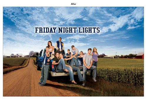 Friday Night Lights | NBC Show Key Art (After)