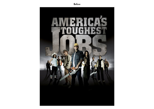 America's Toughest Jobs | NBC Show Key Art (Before)