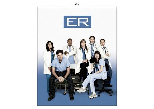 ER, Season 14 | NBC Show Key Art (After)