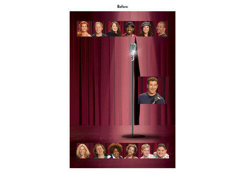 Last Comic Standing | NBC Show Key Art (Before)