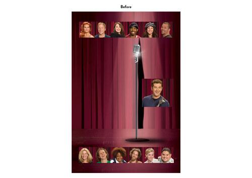 Last Comic Standing | NBC Show Key Art (Before)