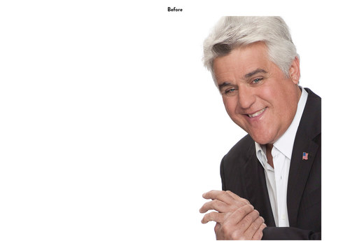 The Jay Leno Show | NBC Show Key Art (Before)
